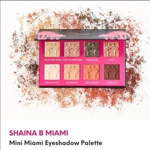 Shaina B Miami Mini 8 Color Eyeshadow Palette